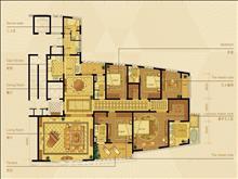 长顺滨江皇冠 799万 6室2厅5卫 毛坯 超好的地段,住家舒适直接更名房