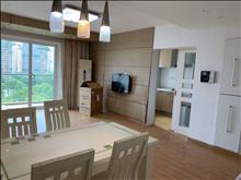 漢城國際 1800元月 2室2廳1衛,精裝修帶地暖 家電全齊,大型花園社區