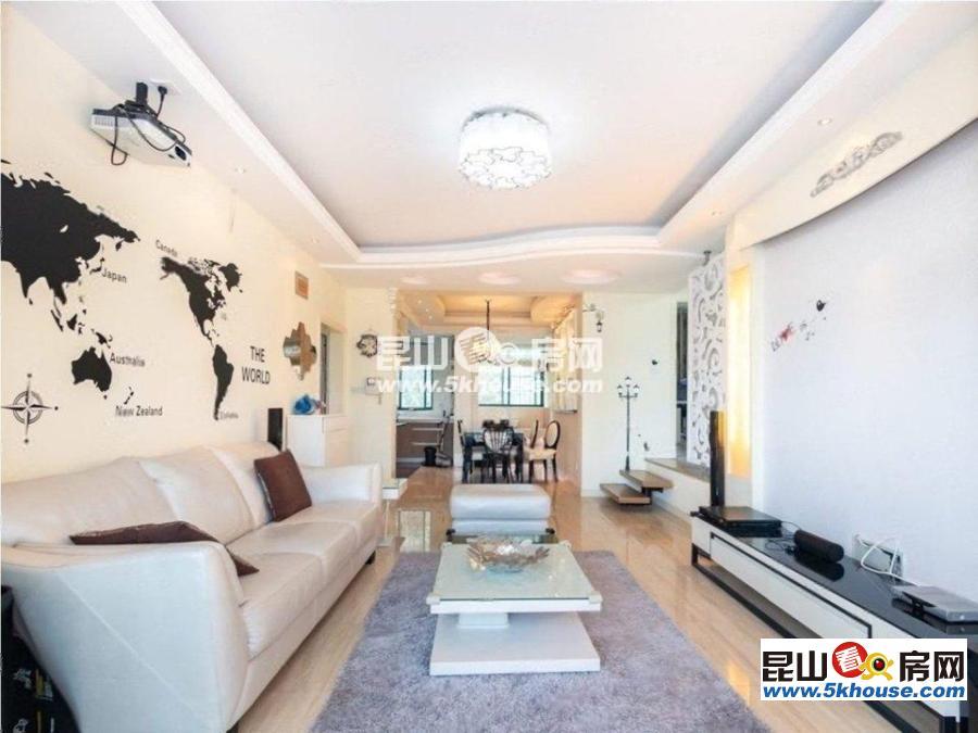 花桥地铁口80米,精装大三房,高品质楼盘