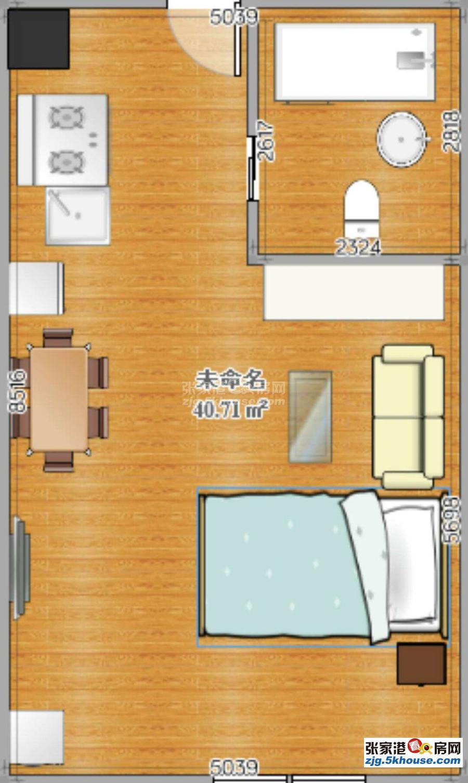 吾悦广场 单身公寓 装修不错 适合自住 家电齐全 关门卖