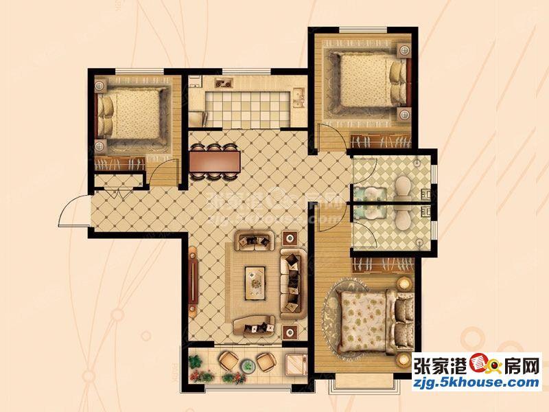 万红五村3楼精装开价185万价格可以谈满五唯一