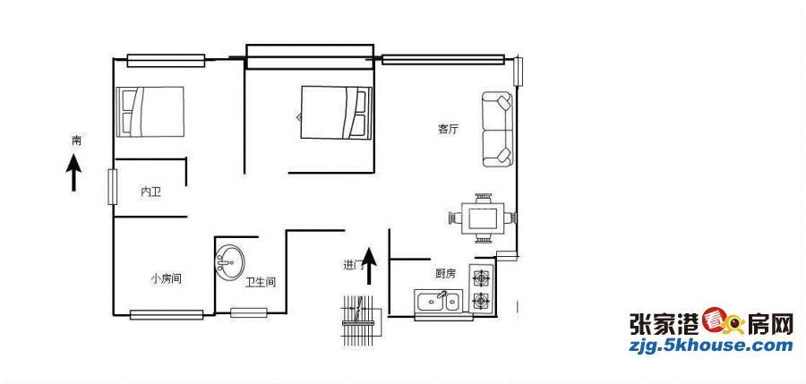 180万 白鹿花苑 135平 3室2厅 精装修 满五唯一住房