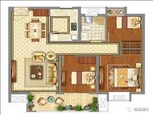 市區西二環旁,首期11萬買三房,雙陽臺落地窗建面89-127平3-4房