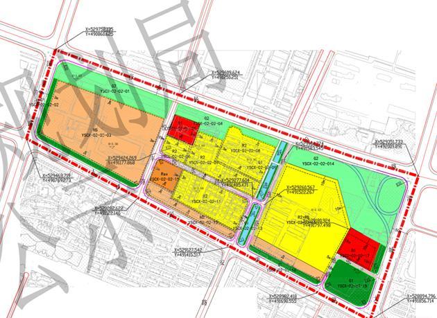 关于杨舍城西YSCX-02-02地块控制性详细规划调整的批前公示