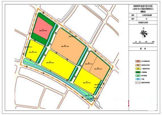 关于拟对张家港市金港片区生活区基本控制单元控制性详细规划进行调整的公示