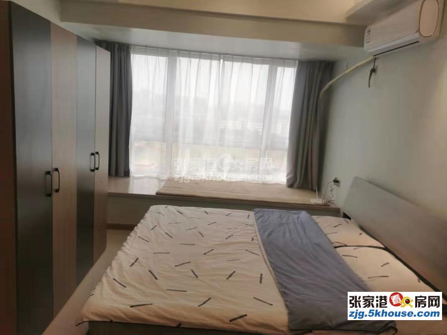 万达精装公寓 白领首选 商业配套成熟 带大飘窗 首次出租