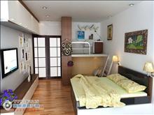 吾悅華府16樓106平方精致裝修三室一廳25000元/年