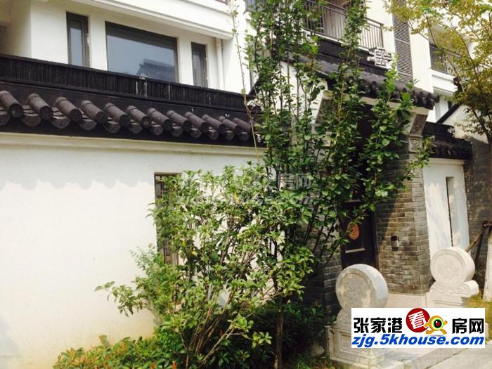 锦绣江南下叠加 带围墙院子 小区环境非常好 养生的好地方