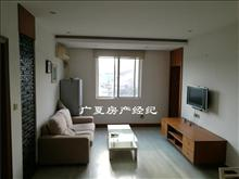 云盘二村 3楼 2室2厅+书房 现代装干净清爽 2万/年
