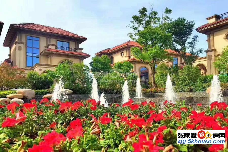 暨阳湖法式别墅,原价512万,现在开发商清盘价465万,仅此两套