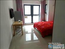 吾悦广场6楼42平精装金地段单身公寓出租22000一年