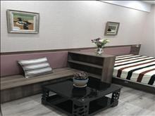 吾悦广场2350元/月 1室1厅1卫 精装修 ,家具电器齐全,有匙即睇