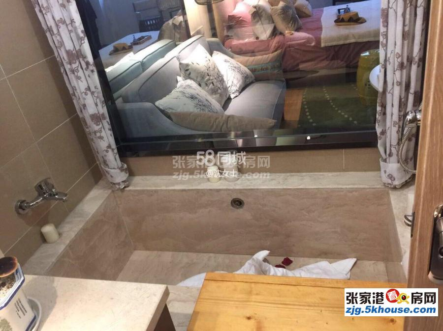 凤凰温泉逸墅一室户出租精装修拎包入住1700一个月