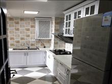 国泰润园6楼 高档住户,两室现代精装带车位,首次出租