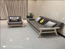 ?湖滨国际 11楼 75平方 精致装修 二室一厅 33000元/年