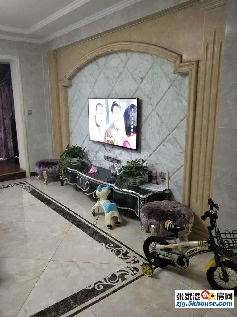 中联皇冠 豪装8楼141平3房满五车位+自库 325万 急售