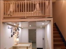 君临新城1室1厅loft 精装 品质校区看房方便