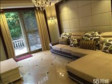 中联皇冠1楼带院子90平2房精装5.5一年,有车位储藏室