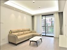 精装修全屋地暖、中央空调、爱格地板,全新未人住拎包入住