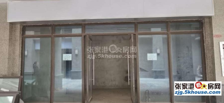 恒大雅苑影院底商34平 開間大挑高4.5米 出租9500元/年可做餐飲 甜品店