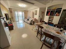 金新城悅府 4樓119平十車位十雙儲藏室,精裝修,三室二廳一衛,滿2年,開價270萬