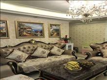 吾悅華府38樓130平方 帶車位 豪華裝修 湖景房 含物業費