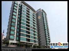 王府名邸15楼135+车位装修245万   三室两厅 步行街