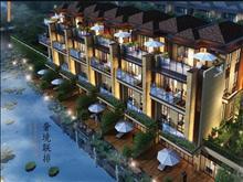 郦景澜湾 沿河双拼别墅,420平,毛坯报价 510万,房东承担一半税