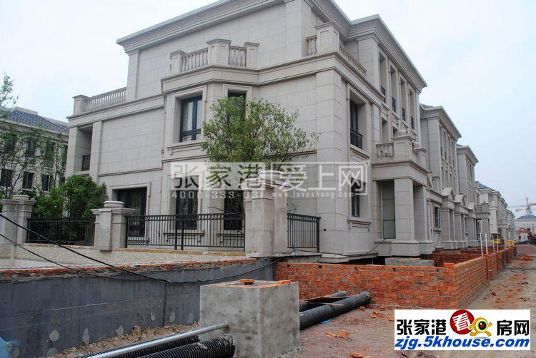 中昊檀宫联排别墅 420平 双车位 豪装 满两年 880万